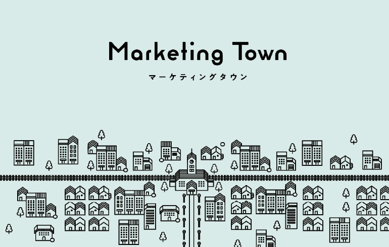 ビジネスボードゲーム「Marketing Town」